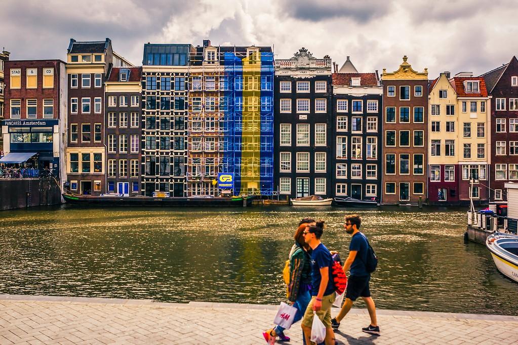 荷兰阿姆斯特丹,城市景象_图1-5