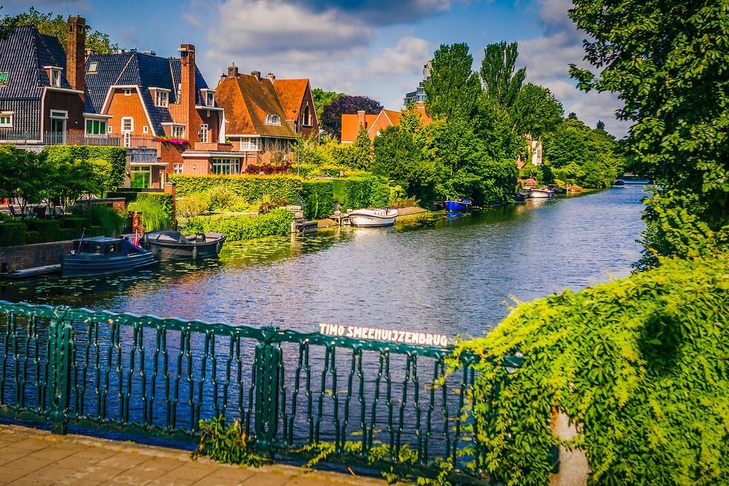 荷兰阿姆斯特丹,城市景象_图1-4