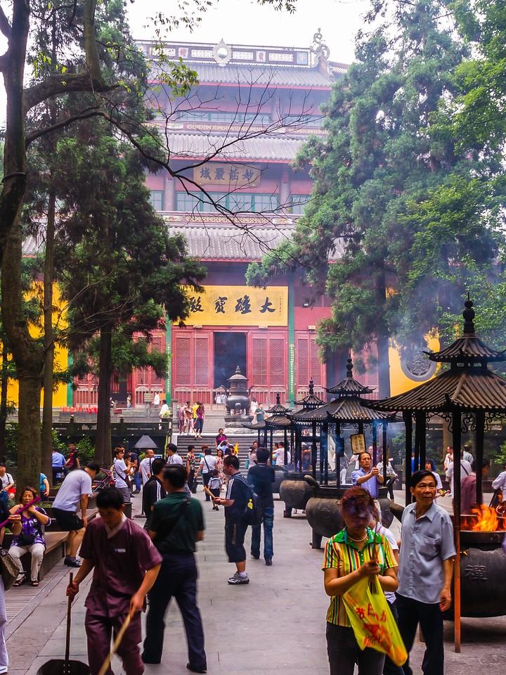 杭州灵隐寺,著名景点_图1-6