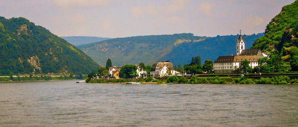游莱茵河,两岸小镇_图1-7