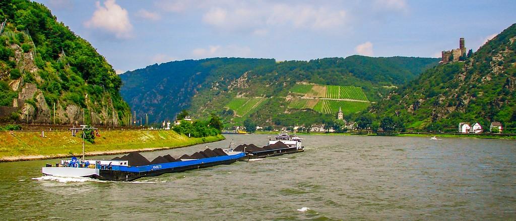游莱茵河,两岸小镇_图1-2