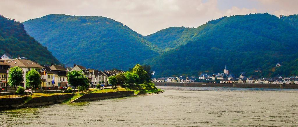 游莱茵河,两岸小镇_图1-9