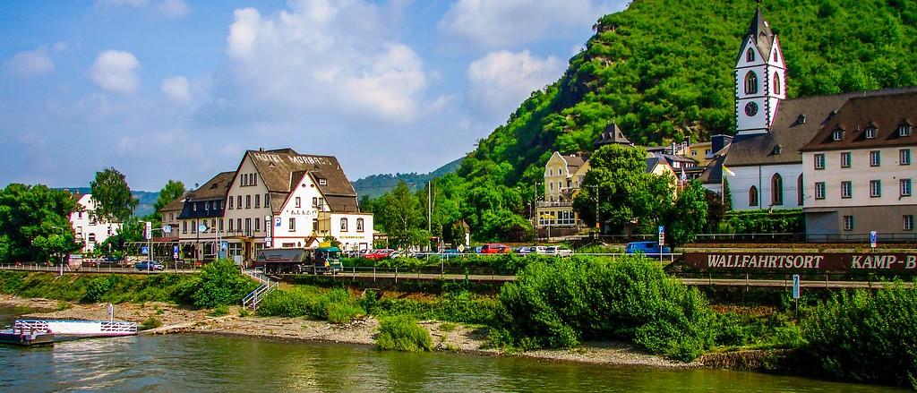 游莱茵河,两岸小镇_图1-12