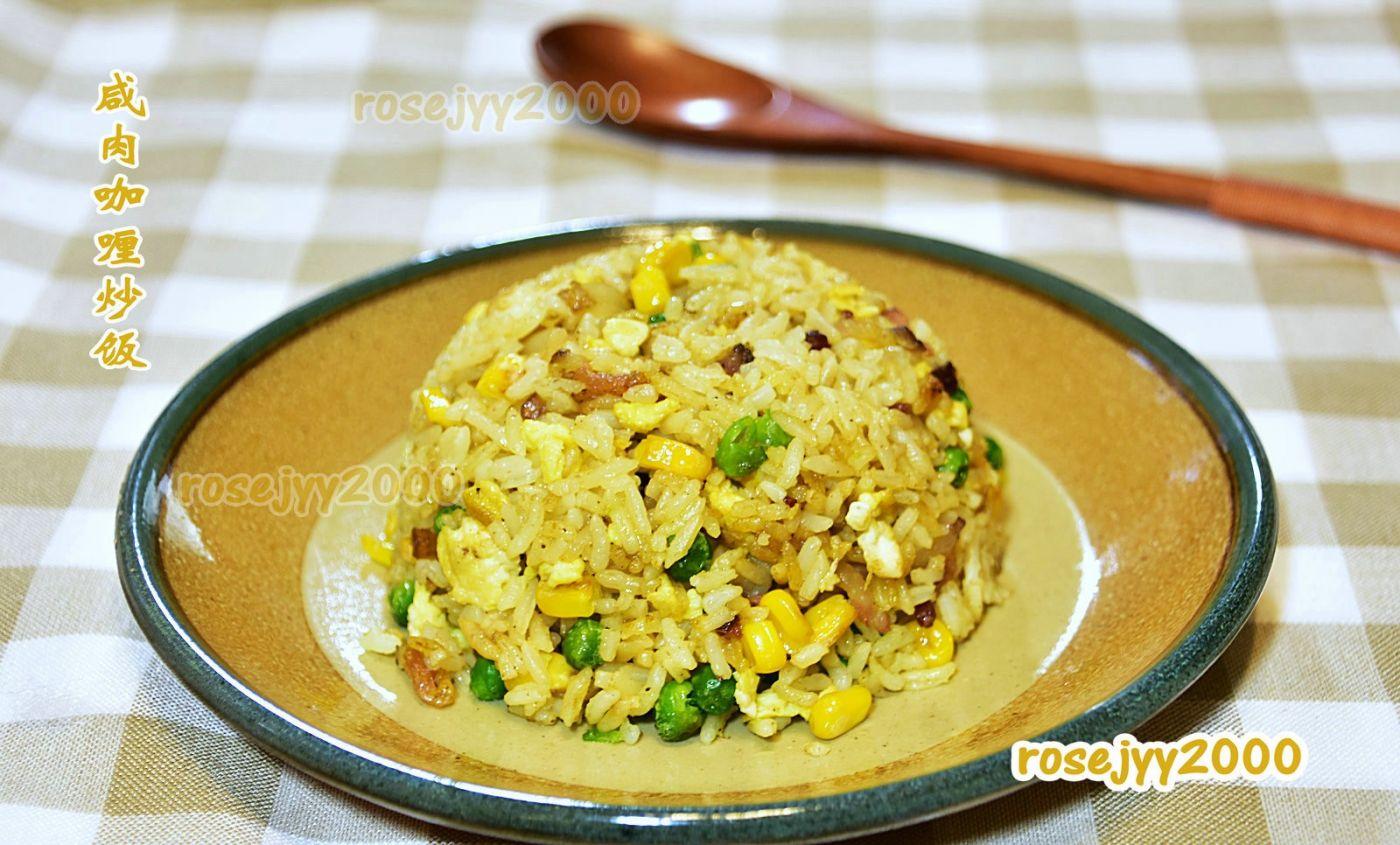 咸肉咖喱炒饭_图1-1