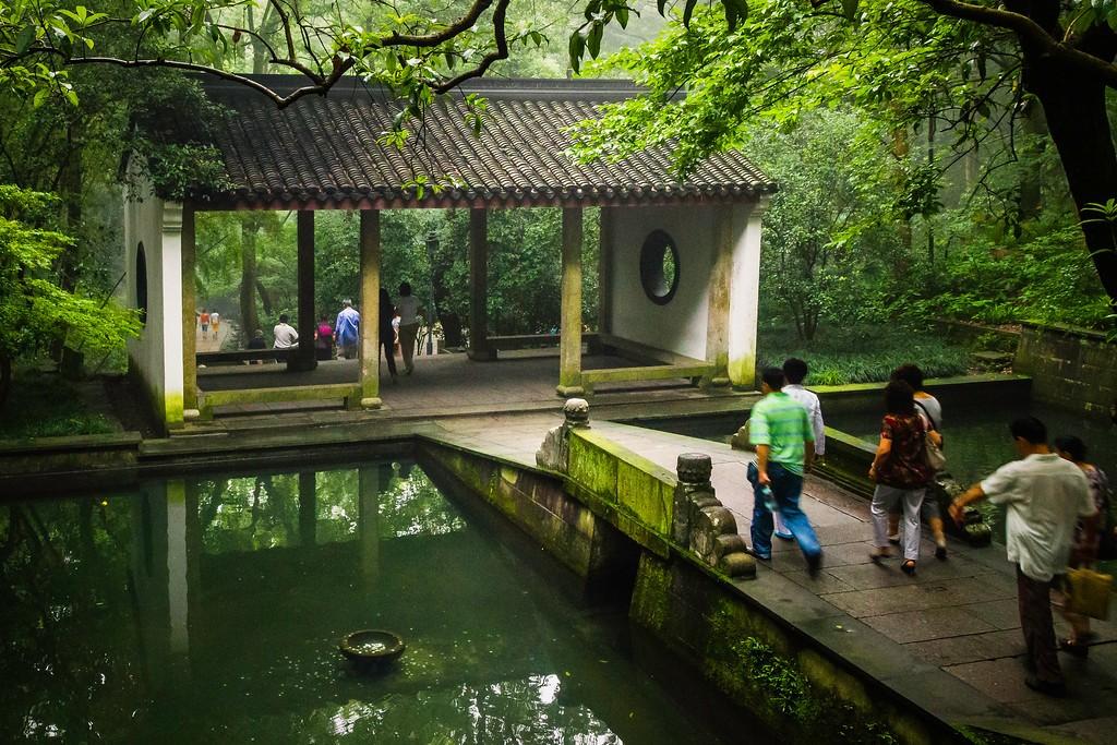 杭州虎跑,一处幽静传奇的景点_图1-4
