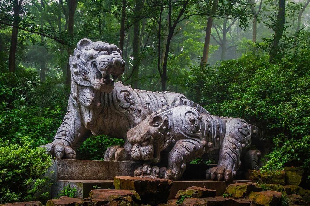 杭州虎跑,一处幽静传奇的景点_图1-9