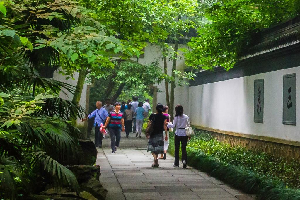 杭州虎跑,一处幽静传奇的景点_图1-15