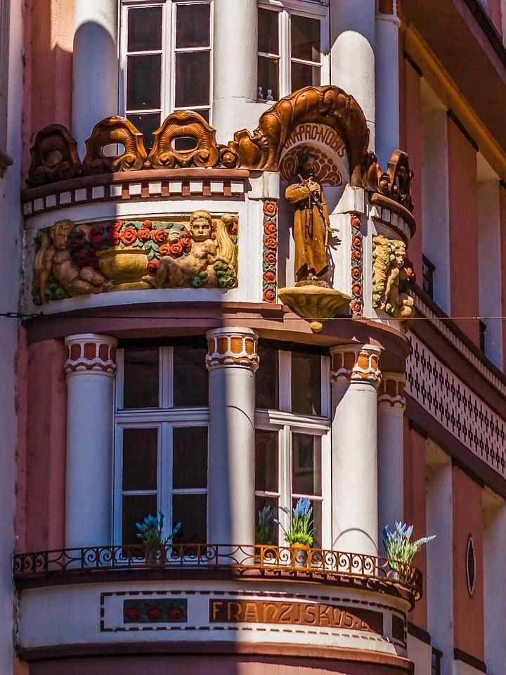 德国马克思城堡(Marksburg castle),路边雕塑_图1-14