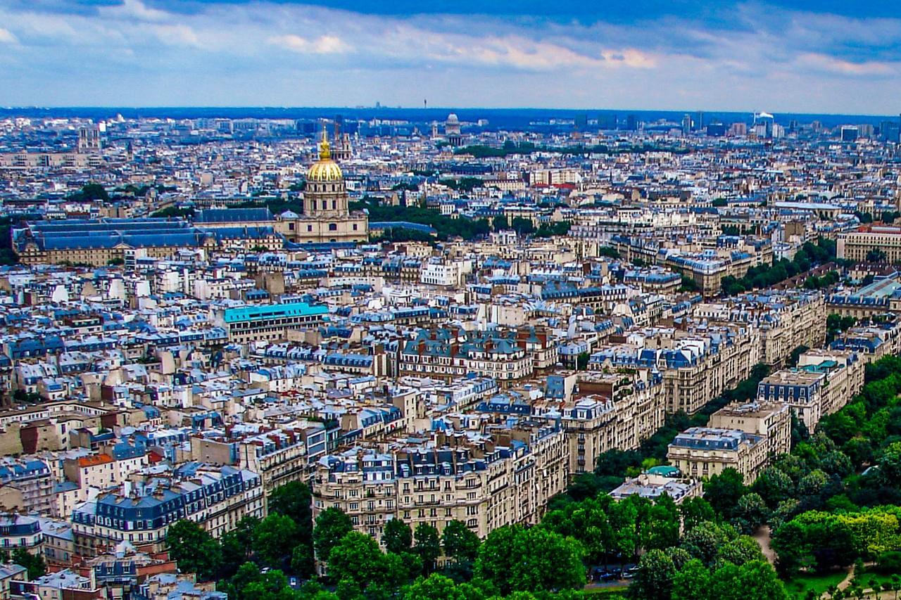 法国巴黎,全城风貌_图1-6