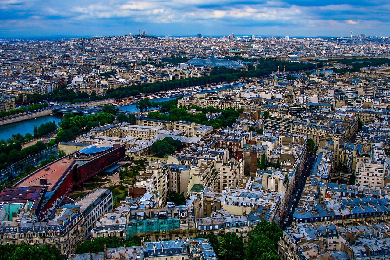 法国巴黎,全城风貌_图1-3