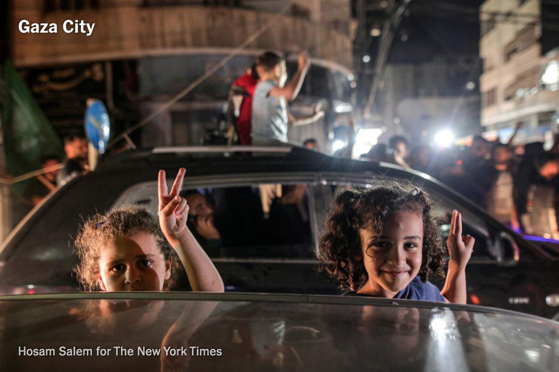 以色列-巴勒斯坦达成无条件停火协议_图1-6