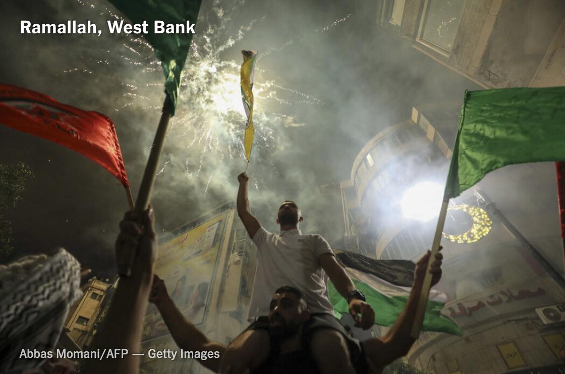 以色列-巴勒斯坦达成无条件停火协议_图1-8