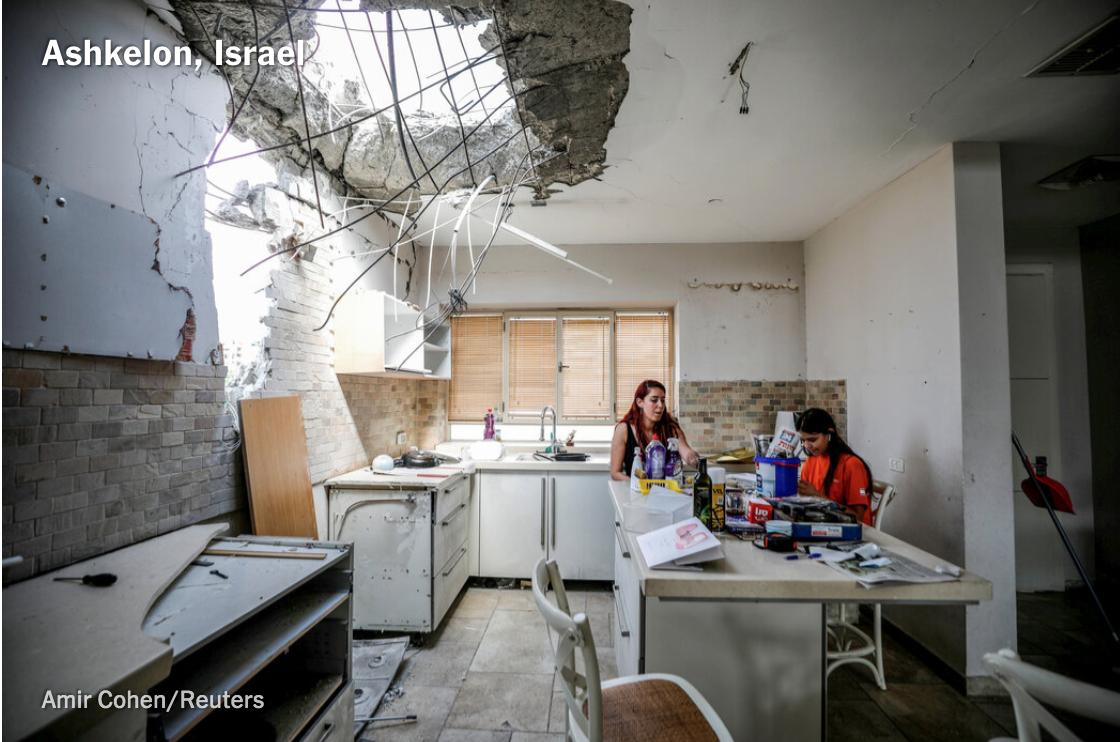 以色列-巴勒斯坦达成无条件停火协议_图1-5