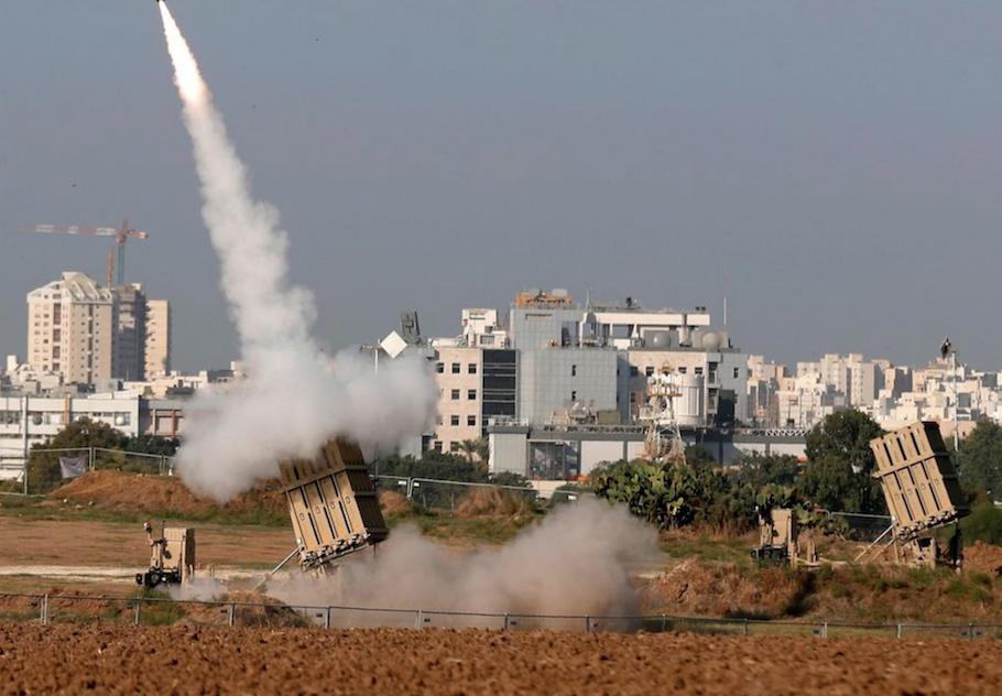 以色列《铁穹》导弹防御大显身手_图1-1