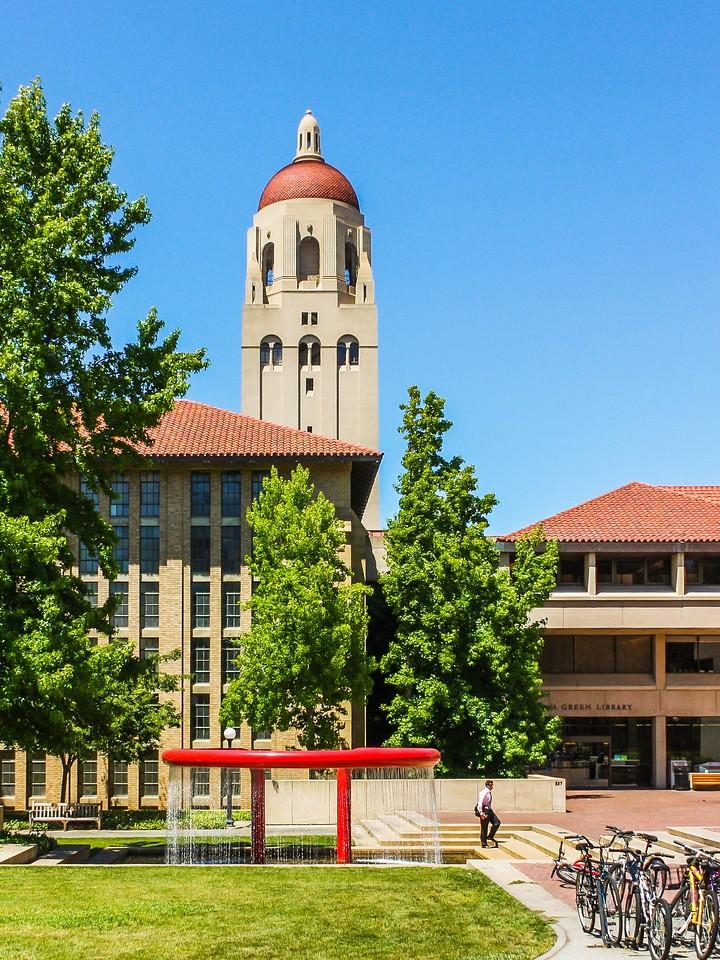 美国斯坦福大学,校园建筑_图1-3