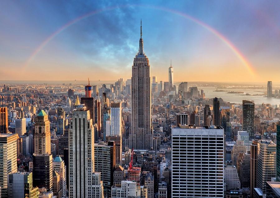 纽约,你好!(笨小孩的世界之二十一)_图1-1