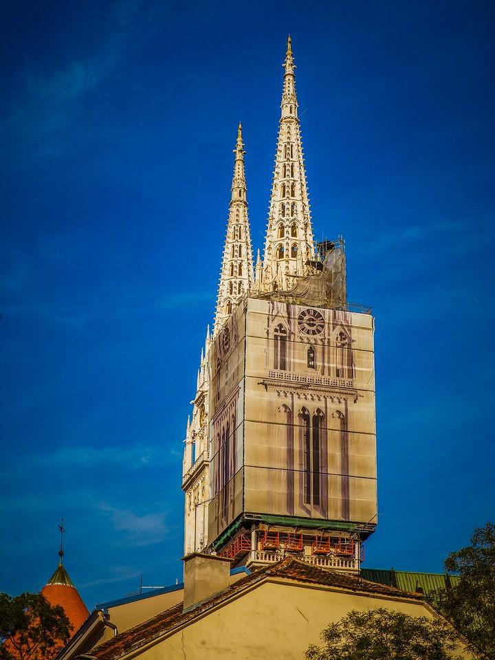 克罗地亚首都萨格勒布(Zagreb),萨格勒布主教座堂_图1-3