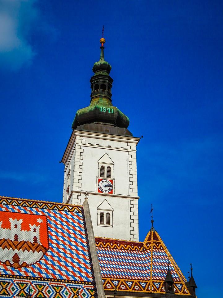 克罗地亚首都萨格勒布(Zagreb),萨格勒布主教座堂_图1-7
