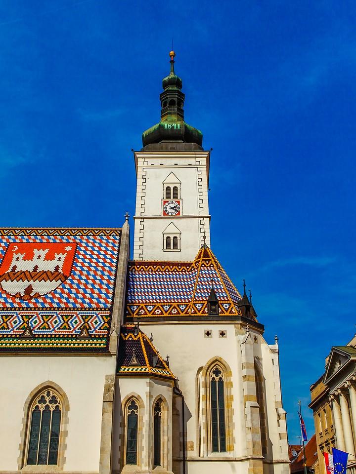 克罗地亚首都萨格勒布(Zagreb),萨格勒布主教座堂_图1-10