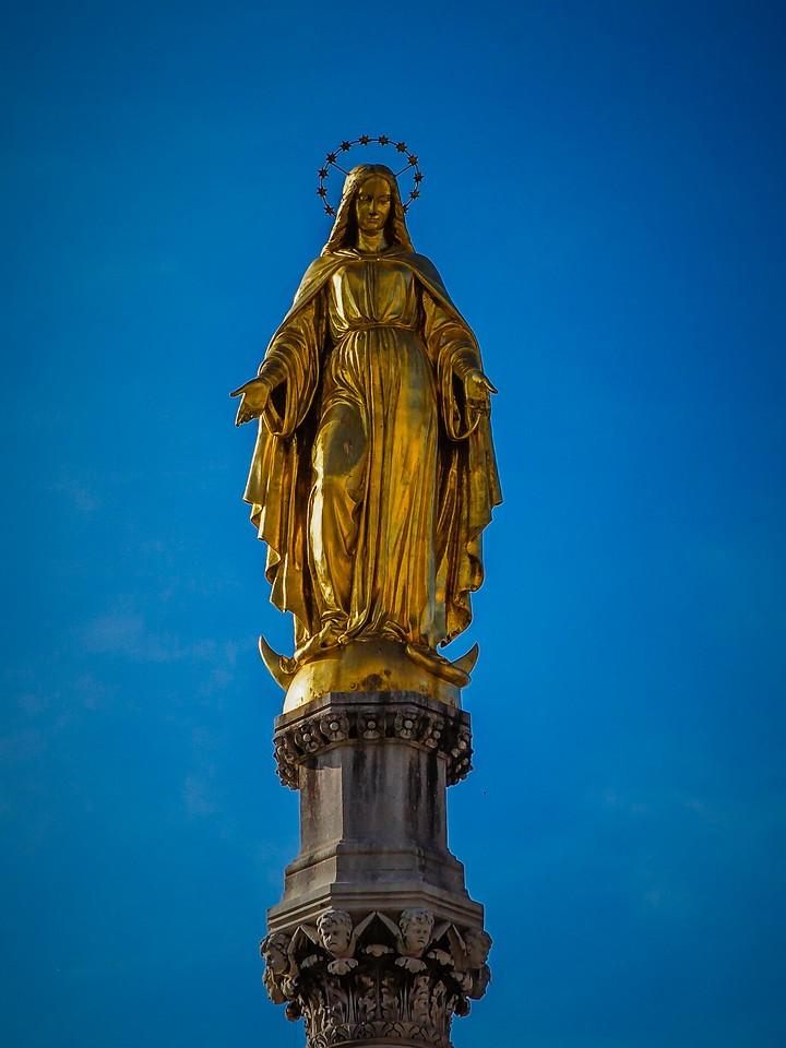 克罗地亚首都萨格勒布(Zagreb),萨格勒布主教座堂_图1-9