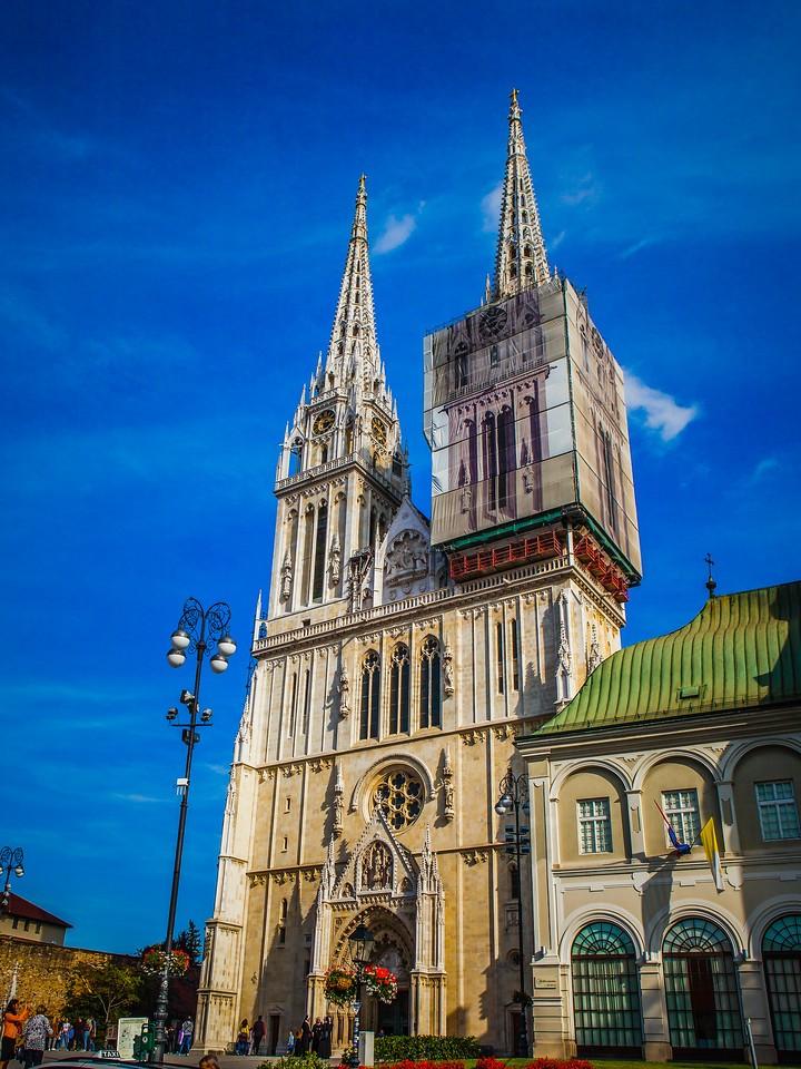 克罗地亚首都萨格勒布(Zagreb),萨格勒布主教座堂_图1-12