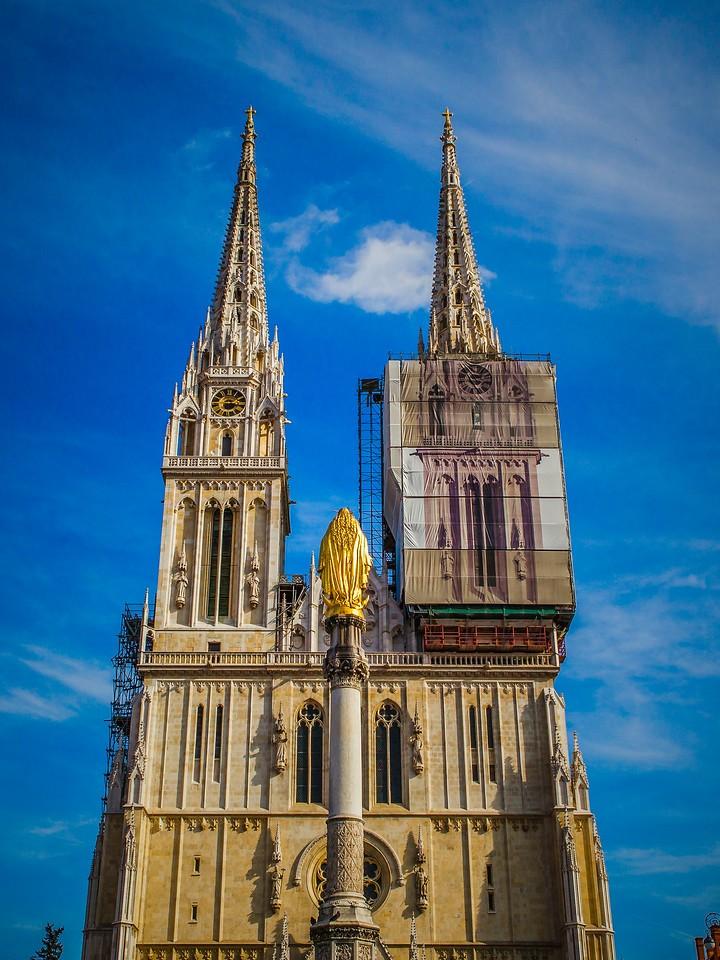 克罗地亚首都萨格勒布(Zagreb),萨格勒布主教座堂_图1-13