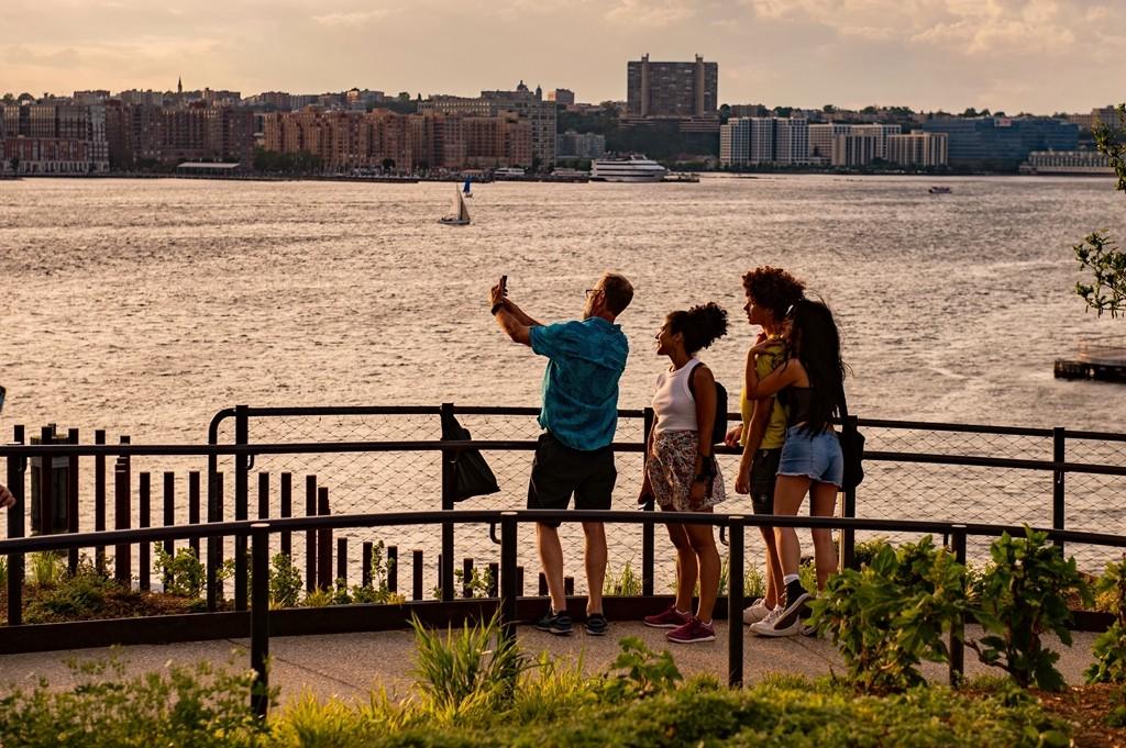 纽约曼哈顿新地标【小岛】Little Island_图1-4