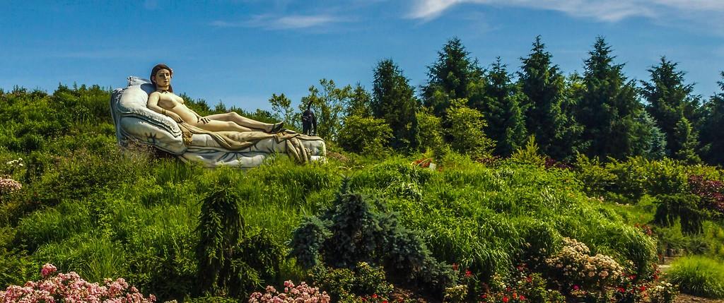 新泽西州雕塑公园(Grounds for scuplture),自然与艺术_图1-8