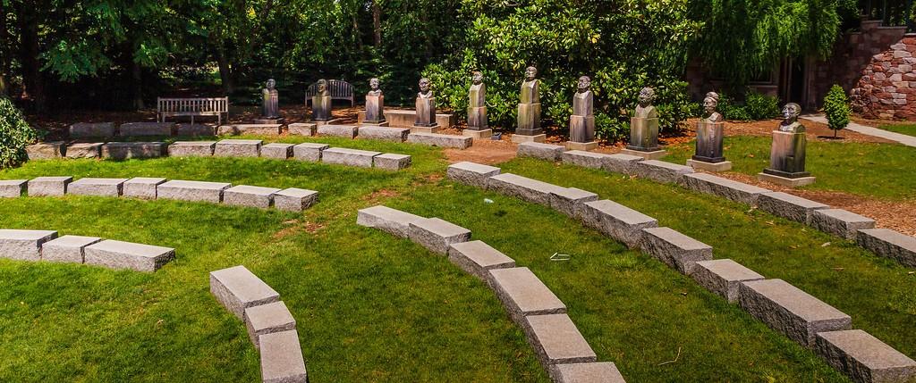 新泽西州雕塑公园(Grounds for scuplture),自然与艺术_图1-1