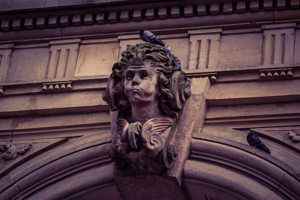 瑞士卢塞恩(Lucerne),街头雕塑_图1-11
