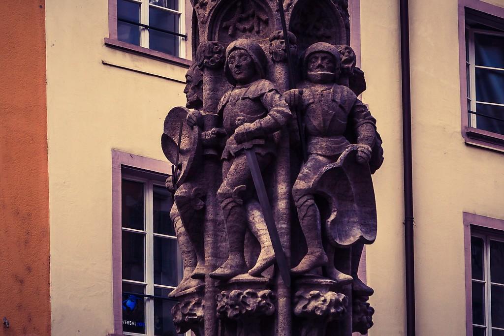 瑞士卢塞恩(Lucerne),街头雕塑_图1-12