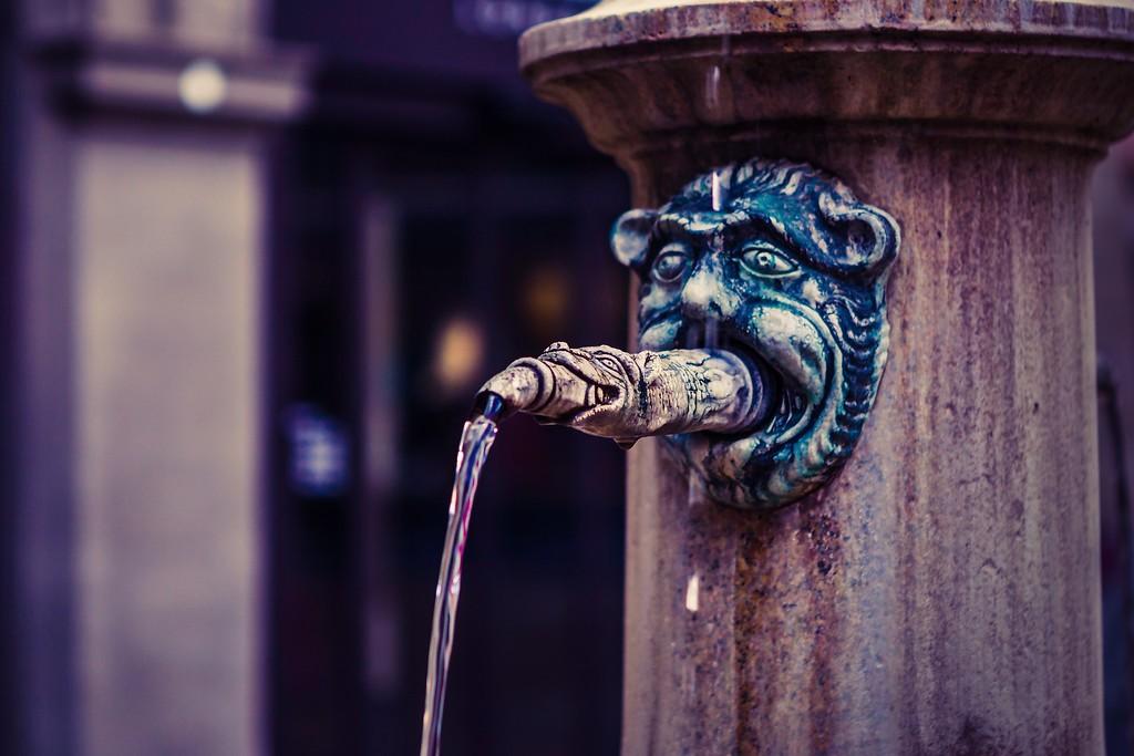 瑞士卢塞恩(Lucerne),街头雕塑_图1-1