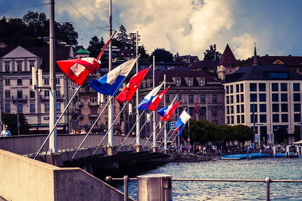 瑞士卢塞恩(Lucerne),街头雕塑_图1-16
