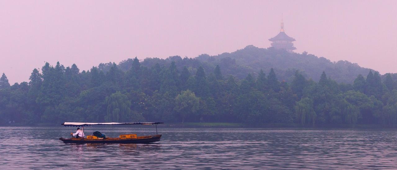 杭州西湖,中国十大风景名胜之一_图1-14