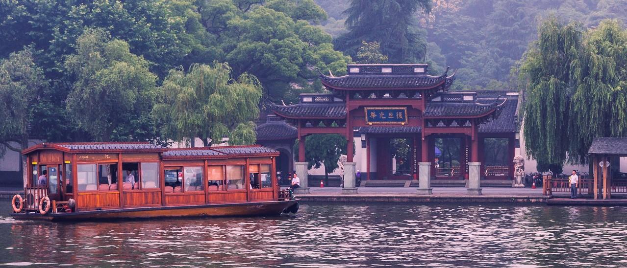 杭州西湖,中国十大风景名胜之一_图1-13