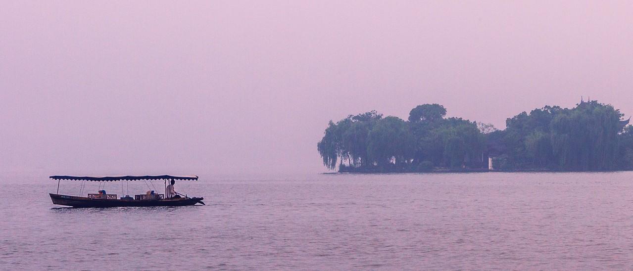 杭州西湖,中国十大风景名胜之一_图1-9