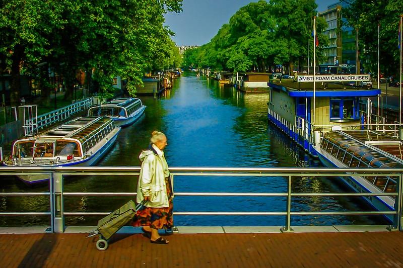 荷兰阿姆斯特丹,市景记录_图1-1