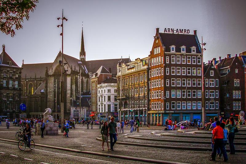 荷兰阿姆斯特丹,市景记录_图1-6