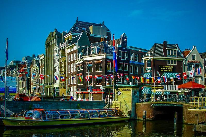 荷兰阿姆斯特丹,市景记录_图1-7