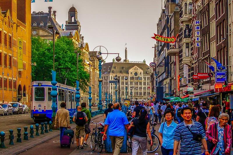 荷兰阿姆斯特丹,市景记录_图1-2