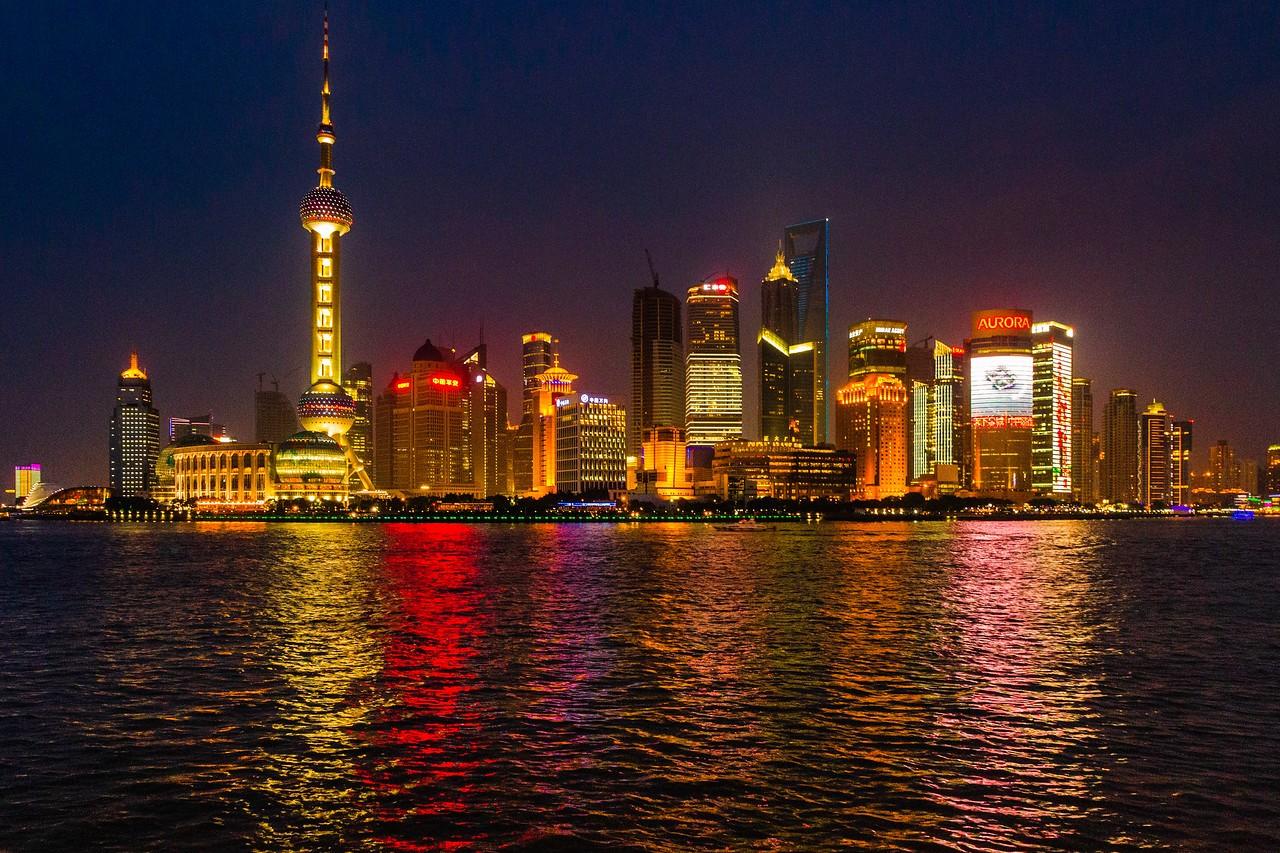 上海外滩,夜幕降临_图1-7
