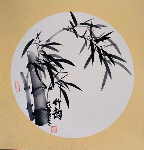 【小品自清雅,如风送香来】著名画家张炳瑞香团扇作品_图1-3