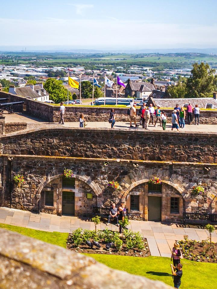 苏格兰斯特灵城堡,城外的世界_图1-19