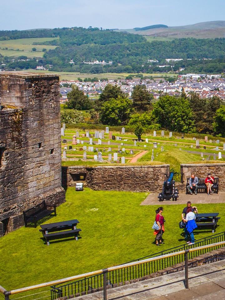 苏格兰斯特灵城堡,城外的世界_图1-20