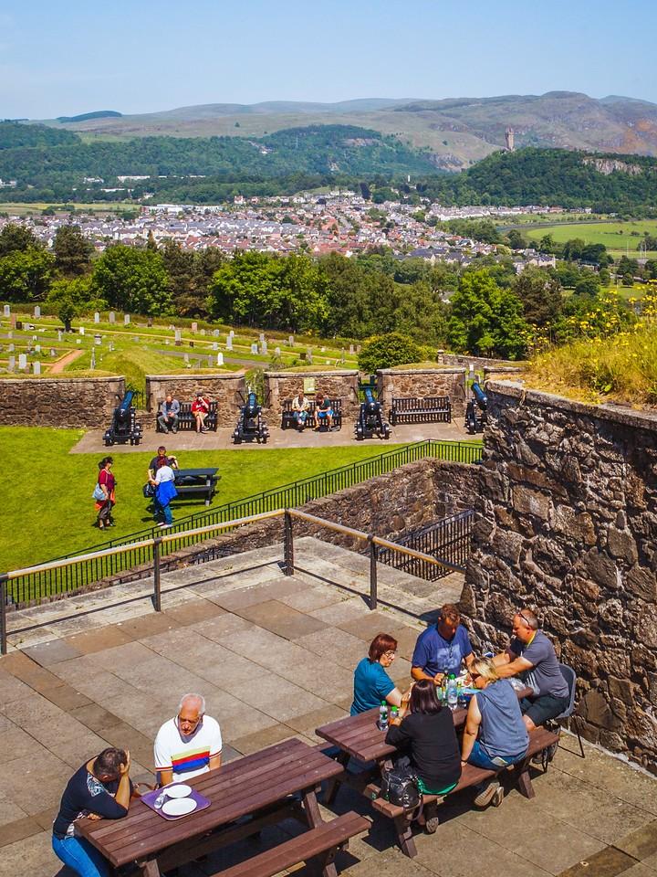 苏格兰斯特灵城堡,城外的世界_图1-18