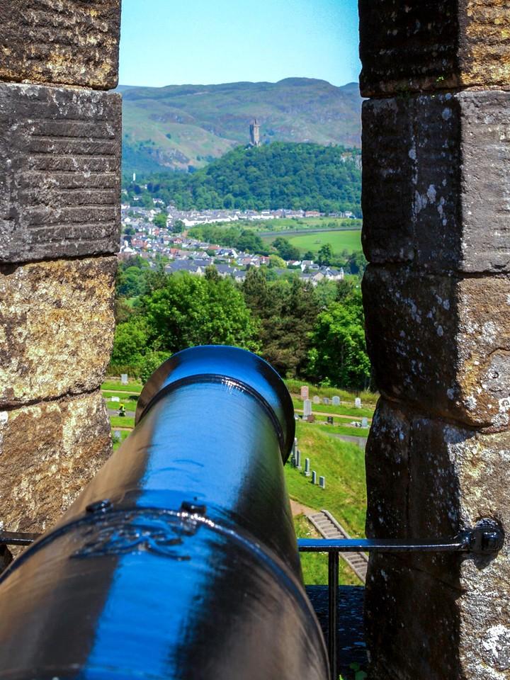 苏格兰斯特灵城堡,城外的世界_图1-16