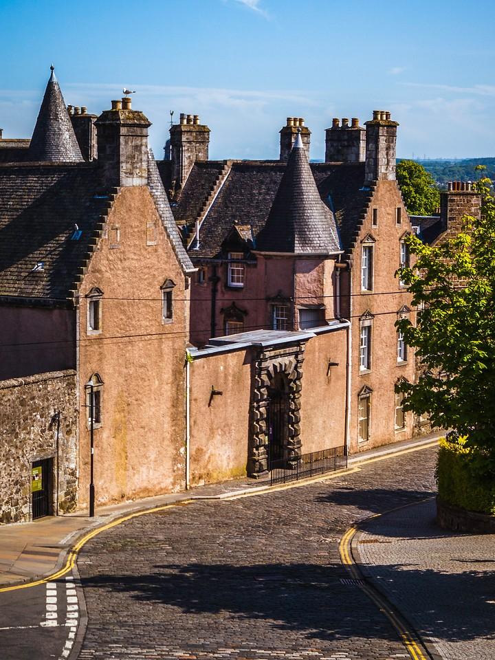 苏格兰斯特灵城堡,城外的世界_图1-15