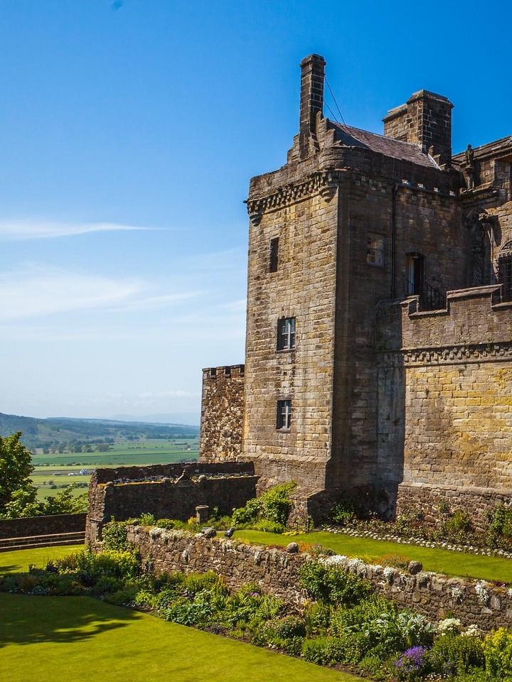 苏格兰斯特灵城堡,城外的世界_图1-17