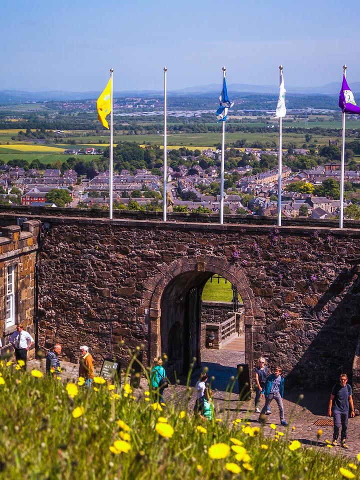 苏格兰斯特灵城堡,城外的世界_图1-13