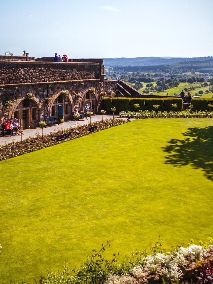 苏格兰斯特灵城堡,城外的世界_图1-14